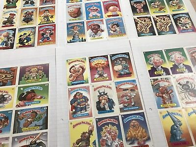 Garbage Pail Kids Stickers Over 126