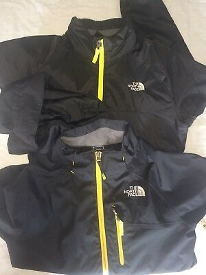 Boys North Face 2 In 1 Black Coat/Jacket Age 14/16 Large
