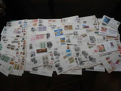 Large Lot of 270+ US First Day Cover Collection