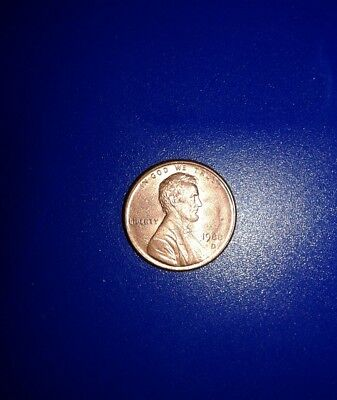 1988 D Mint Wide AM Lincoln Cent
