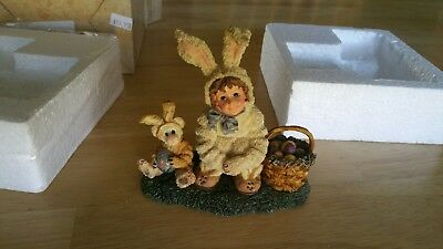 Yesterday's Child The Dollstone Collection Heather with Lauren Bunny Helpers...