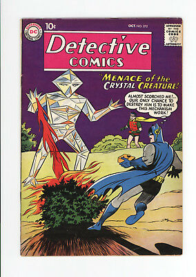 Detective Comics #272 - Nice Vg+ Grade - Batman & Martian Manhunter 1959