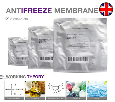 Fat Anti Freeze Pads Cryo Membranes Lipolysis Weight Loss slim Cool Sculpture UK