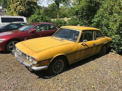 1974 Triumph Stag 3.0 Only 44,489 Miles Overdrive Barn Find Restoration Project