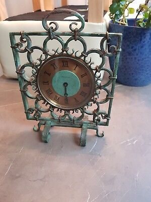 1950's  JAEGER LECOULTRE iron 8 day clock need restoration