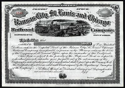 18__ Missouri: Kansas City, St. Louis and Chicago Railroad Company