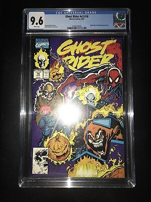 Ghost Rider Vol 2 Issue 16 CGC 9.6 Graded Marvel Comics Spider Man Hobgoblin