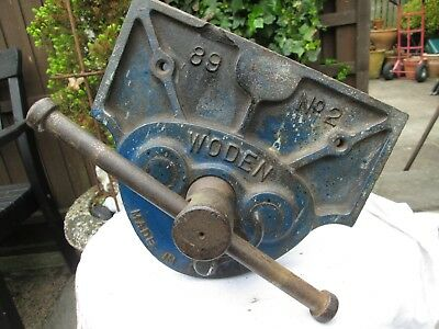 Vintage Woden 89 No: 2 Wood Working Bench Vice