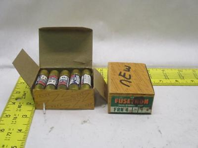 Bussman Fusetron FRN4 Dual-Element Fuses 250V 4Amp (Lot of 20)
