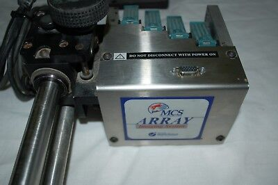 "MCS Array Inkjet 2"" print head with mount and que"