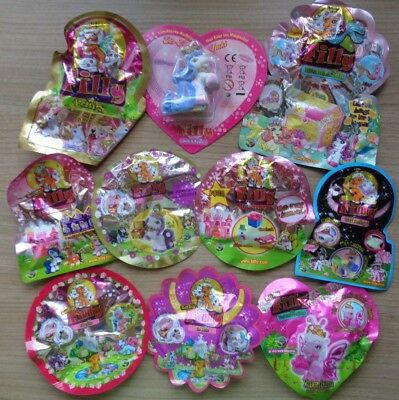 10 verschiedene Filly Teile*Mermaids,Fairy,Butterfly,Elves,Witchy,Exklusive(a10)