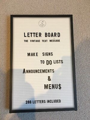 Letter Board from JAY MFG Co.perfect for weddings, parties, birthdays, or events