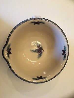 Northwoods 2 -Handle Batter Bowl- Home And Garden Party- Brand New : northwoods dinnerware - Pezcame.Com