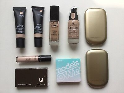 LOUISE YOUNG,MAX FACTOR,ESSENCE, MODELS OWN,RDL,TREND IT UP MakeUp/Concealer