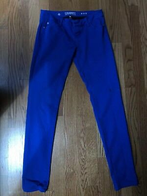 53fa4839 Juniors Womens Celebrity Pink Skinny Jeans Royal Blue Trendy Classy Fashion