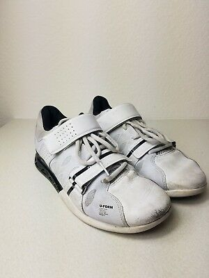 Reebok Crossfit Men s Black And White U-Form Weightlifting Shoes Size 8 02e877c97