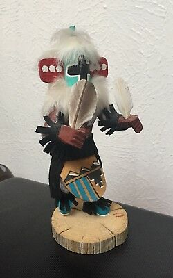Navajo Chasing Star Kachina Doll By H. Jones (Signed)