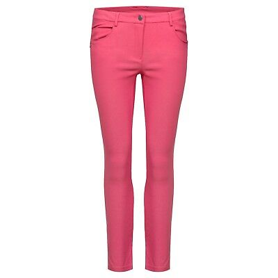 Cross Damen Stretch Capri Narrow Fit Pink Größe 38