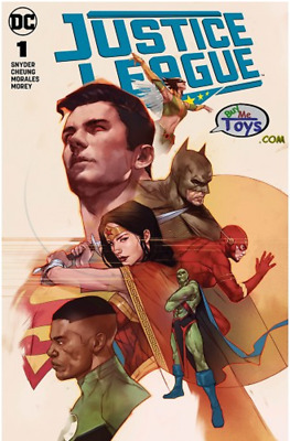 JUSTICE LEAGUE #1 (2018) Ben Oliver EXCLUSIVE Variant Cover Limited Pre-Order
