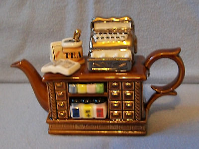 ** Tea For Lovers Cardew Old Fashioned Teashop Counter Teapot* *excellent Cond**