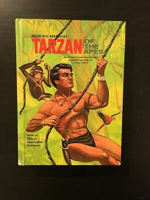 TARZAN OF THE APES by EDGAR RICE BURROUGHS Whitman Publishing from 1964
