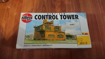 H0 airfix 1 87 airfield Control tower
