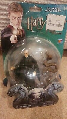 "Popco Harry Potter Action Figure Of Voldemort and Nagini 3.75"" Tall"