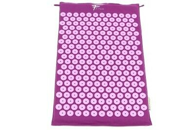 Fitem Tapis d'acupression acupuncture  massage relaxation  sport 68x42x2,5cm