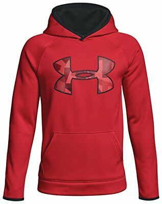 Under Armour garçon AF Big Logo Sweat à capuche Top de préchauffage XS Red