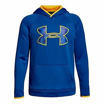 Under Armour garçon AF Big Logo Sweat à capuche Top de préchauffage XS bleu m...