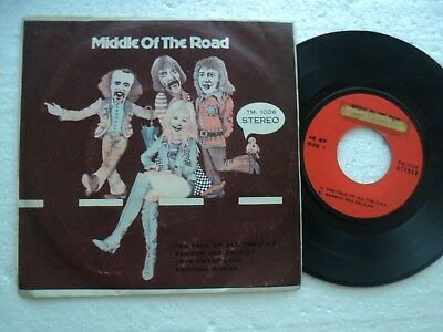 MIDDLE OF THE ROAD - The talk of all the USA + 3  - Rare THAILAND only EP