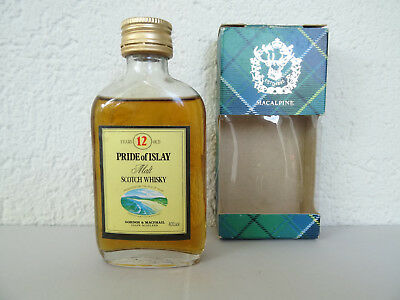 Miniature Whisky PRIDE OF ISLAY 12 Years Old - Mini Bottle, Mignonnette.