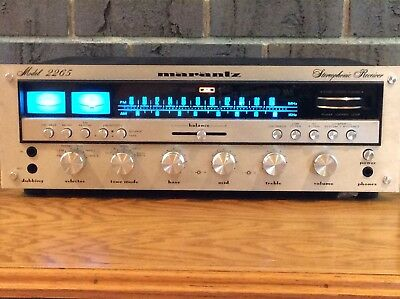 Marantz 2265 Receiver Very Clean and Working Needs a Little TLC to be 100%