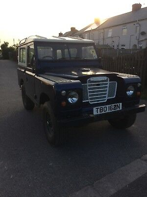 Land Rover series 3 diesel 1974 tax exempt unfinished project