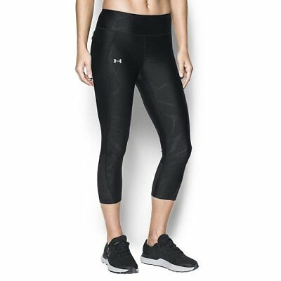 Under Armour Fly By, Corsaire Fly By Femme, Noir (schwarz), S-M
