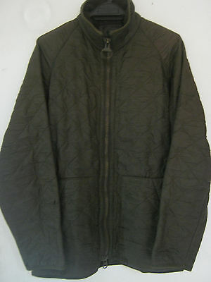 Barbour England Range Rover Mens sz M Exhibition Quilted Jacket Navy Motorcycle