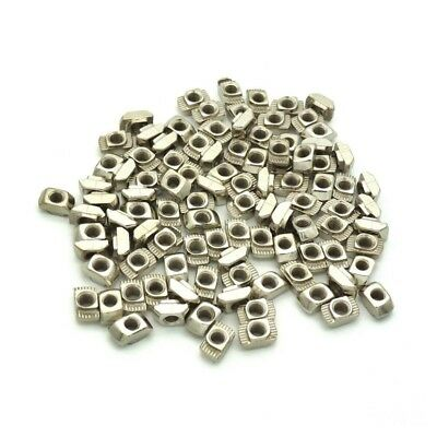 Drop In Post Assembly M4 T-nut for 20 x 20 Aluminum Extrusion 100 pcs E9T1