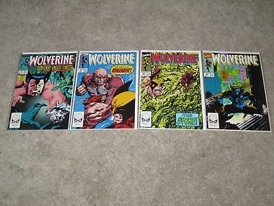 Wolverine Comic Book Lot Marvel