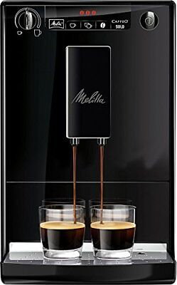 Melitta Machine à Café Automatique, Caffeo Solo, Noir Pure Black, E950-222