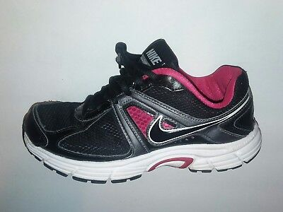 new concept 535aa 569fa Nike Dart 9 Women s Black Pink Running Training Shoes Size 7.5 443863-002