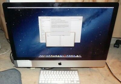 "Apple Imac 27"" Slim A1419 AIO Desktop 2013 I5 3.4GHZ 4GB 1TB"
