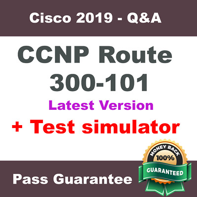 Cisco CCNP route Exam Dump for 300-101 - Q&A PDF + VCE Simulator (2018 Verified)