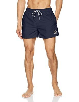 Quiksilver Everyday Byj0 Short de Bain Homme, Navy Blazer/Solid, FR : L (Tail...