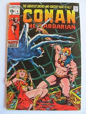 Conan the Barbarian #4 -  In great shape
