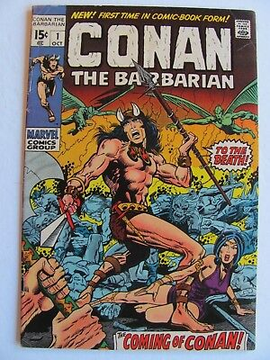 Conan the Barbarian #1  (1970)  Don't let this one slip through your fingers.