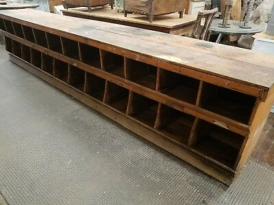 12 Foot Antique General Store Mercantile Hardware Counter