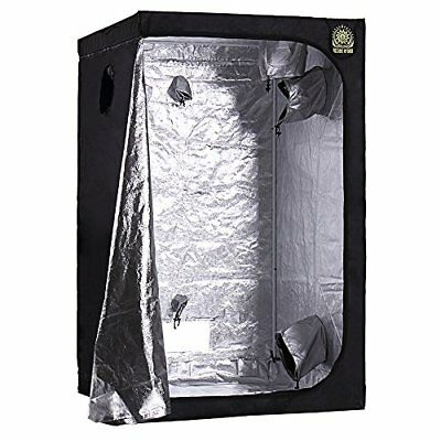 "Helios 48"" x 48"" x 80"" Grow Tent – Indoor Mylar Hydroponic Plant Growing Room"