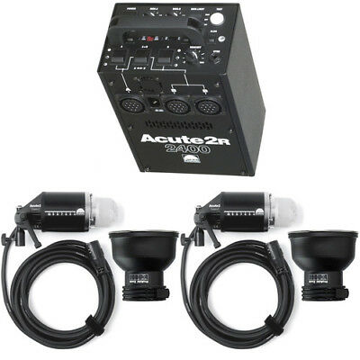 Profoto Acute 2R Power Pack and 2 Acute Flash Heads Kit