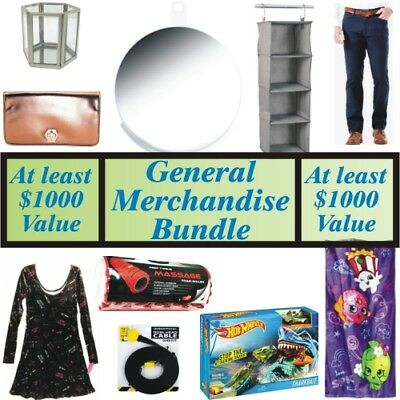 Wholesale Liquidation Lot 100 Different Products, eBay Sellers, Over $1000 Worth