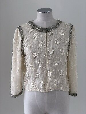 Vintage Beaded Cardigan Forever new